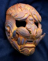 Lion of the Wind: Rust mask by mostlymade