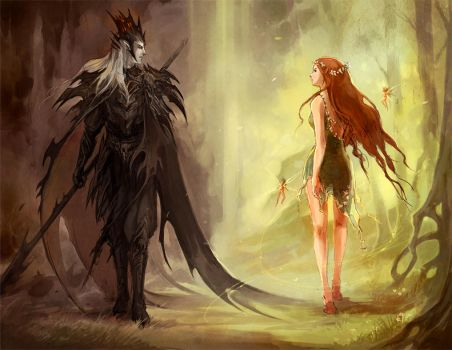 hades and persephone 1 by sandara
