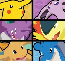My Pokemon Johto Team by CmOrigins