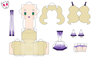 Aria Papercraft by demonreapergirl