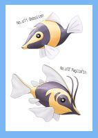 The Clown Fish Fakemon by thyghostboy
