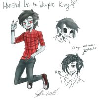 Marshall Lee-MESS Style by MESS-Anime-Artist