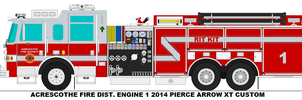 Acrescothe Fire Dist. Engine 1 by MisterPSYCHOPATH3001