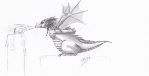 Baby dragon 5 by Vay00
