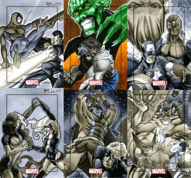 Marvel Heroes and Villains 03 by RichardCox