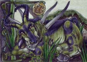 MAoI - Swamp Buffaloe by BloodhoundOmega