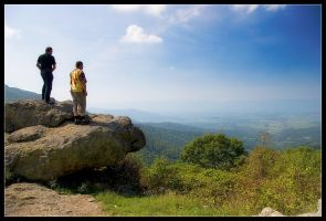 Shenandoah Lookouts by Wivelrod
