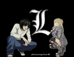 L Lawliet for Misa Amane by Letix86