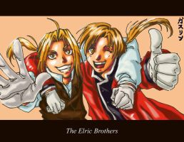 FMA- Brothers...XD by claudiakat