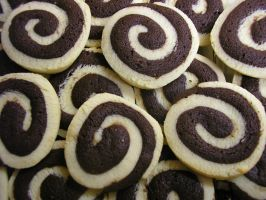 Pinwheel Cookies by BonnieLime