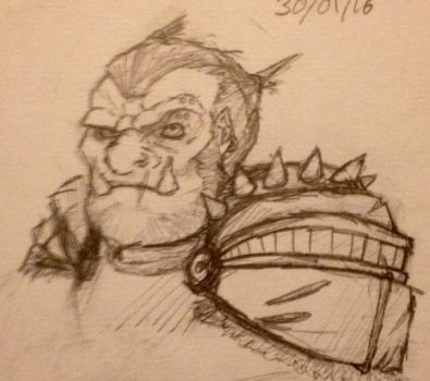 Orc by Dragongirl1997