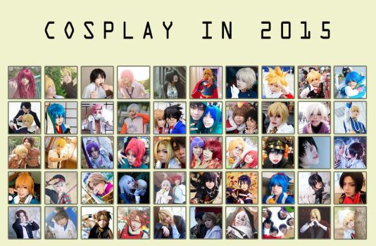 Cosplay in 2015 by Lishrayder
