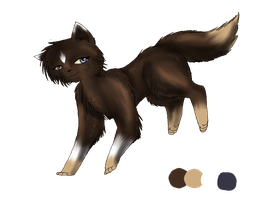 (Black Leaves) Heatherpaw Ref. by Amerikat