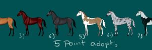 5 point Adoptables by Lone-Onyx-Stardust