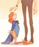 tall dads by scrii