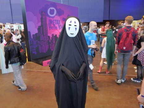 No-Face on Comic Con in Saint Petersburg by Leda-Hedera