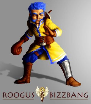 Cleric Roogus Bizzbang by MarzoRamon