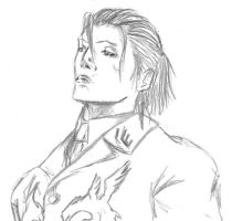 Sergei Dragunov sketch by TheMasochist