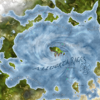The Voyages Of Branze Map by daeVArt
