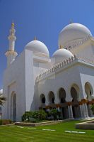 Abu Dhabi - Grand Mosque 14 by LeighWhittaker