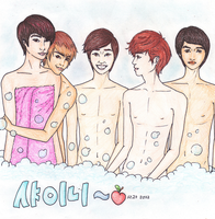 SHINee SHOWer by SwagSagwa