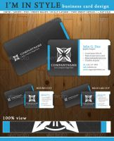 I'm In Style business card by alpha-100