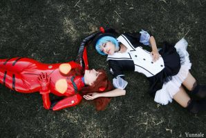 Rei Ayanami Gothic lolita by Yunnale