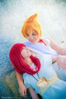 Alibaba And Morgiana - MAGI by Shirokii