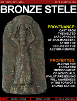 Bronze Stele by wilesjeffery2152