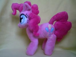 Pinkie Pie Plush by SillyBunnies