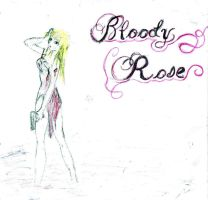 bloody rose by ialoneinthedark
