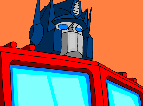 Optimus Prime by Darknlord91