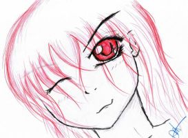 Some of my drawings 10 by TsukiXNoXTenshi