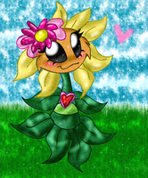 Primal Sunflower by Fun-Time-Is-Party