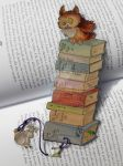 Owl Bookmark by AndromedasWitchery