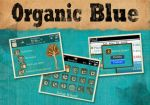 Organic Blue Blackberry Theme by charmay13