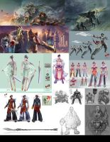 UIPG's MMO concepts by HOON