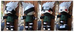 Kakashi Plushie - SakuraCon Commission by Meip