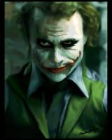 Heath Ledger by Naaik