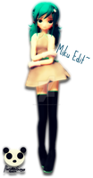 .: MMD - Animasa Miku Edit :. by PandaSwagg2002