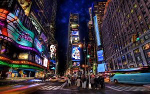 New York Time Square by Morgadu