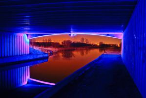 Under the Blue Bridge by BusterBrownBB
