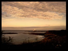 st mary's lighthouse by seatonsluice