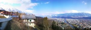 Innsbruck Panoramic View by Morfex