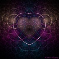 Crackle Heart by Colliemom