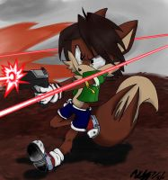 Milo DFWI: Colored by miles-prower-power