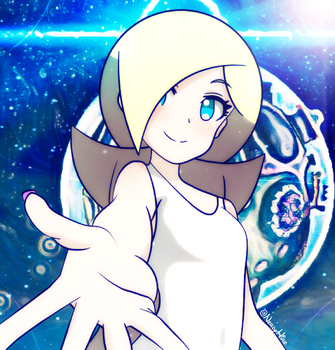 [Super Mario Galaxy] Young Rosalina by NerdyHiro