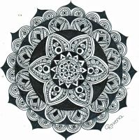 Mandala star of life by RoxenaBernardi