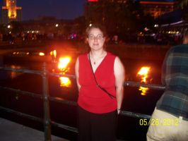 Me at Waterfire by Huntermoon