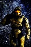 Master Chief iPod + iPhone BG by Photshopmaniac